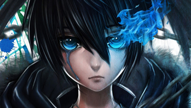 Black Rock Shooter Blue Eyes