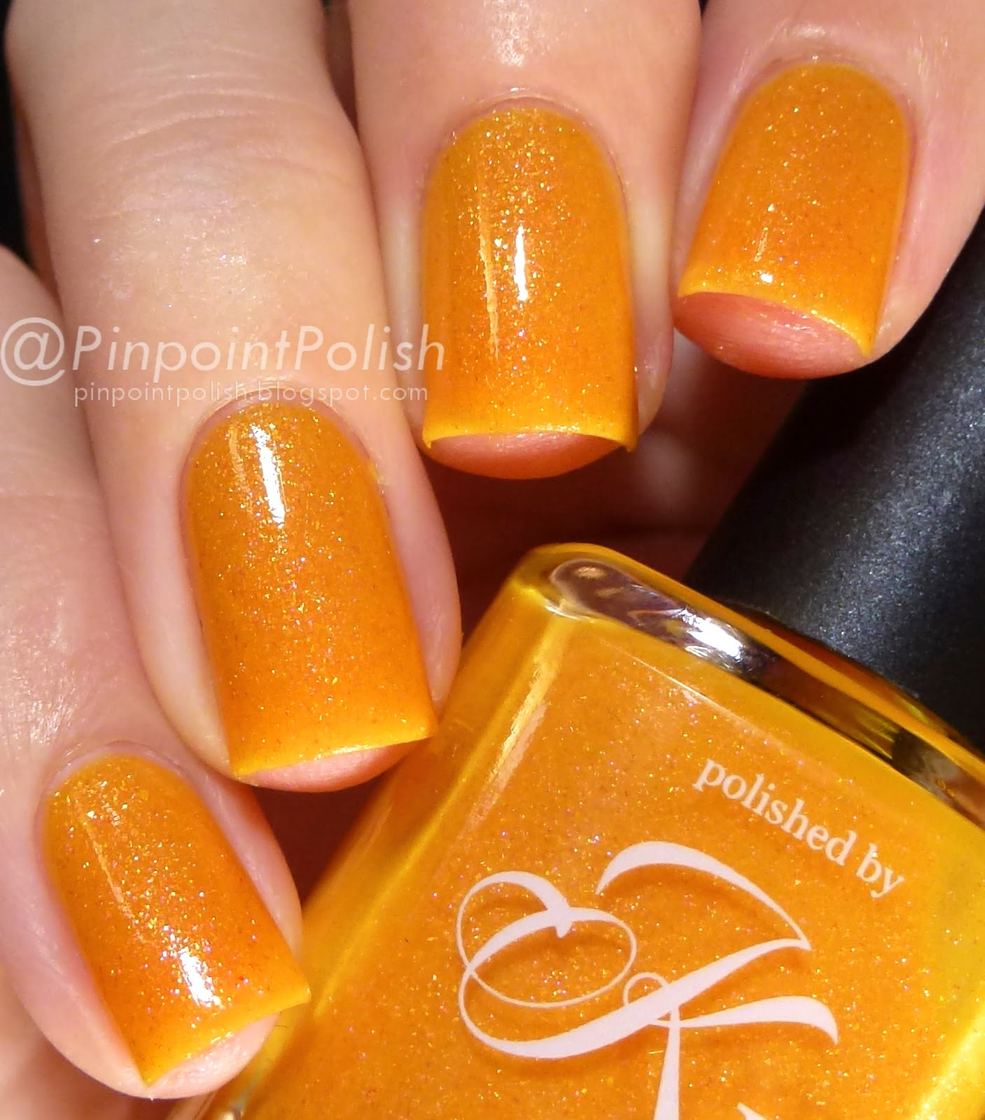 Let's Get Peachy!, Polished by KPT March Into Spring, thermal, swatch