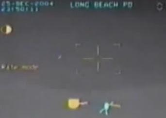 ufo ovni en california captado por helicoptero 2012