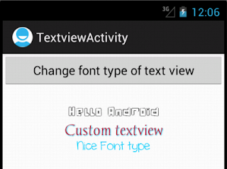 Android Custom TextView - Figure 3