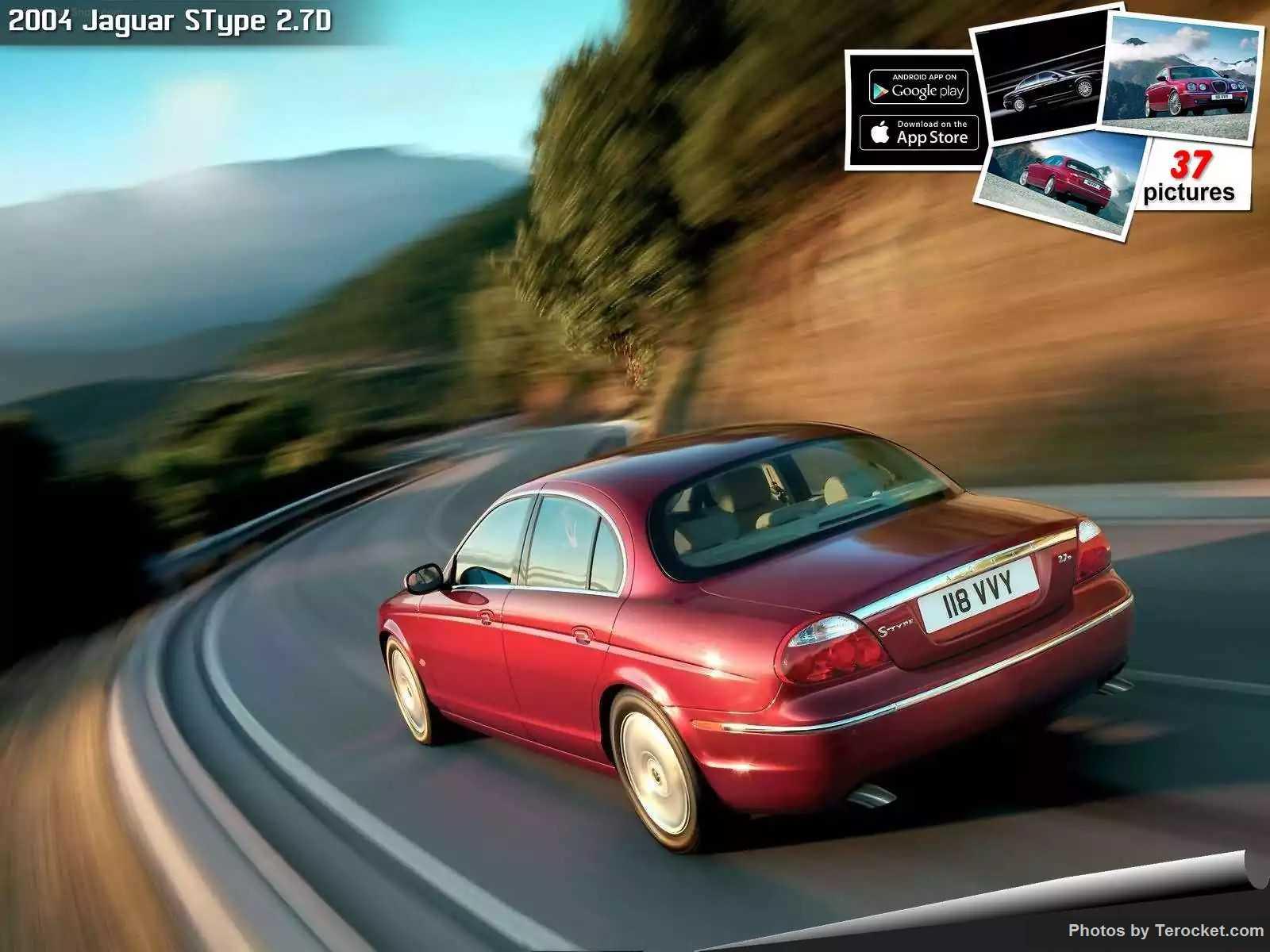 Hình ảnh xe ô tô Jaguar SType 2.7D 2004 & nội ngoại thất