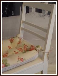 -Wanhan valkoisen tuolin kesäilme-