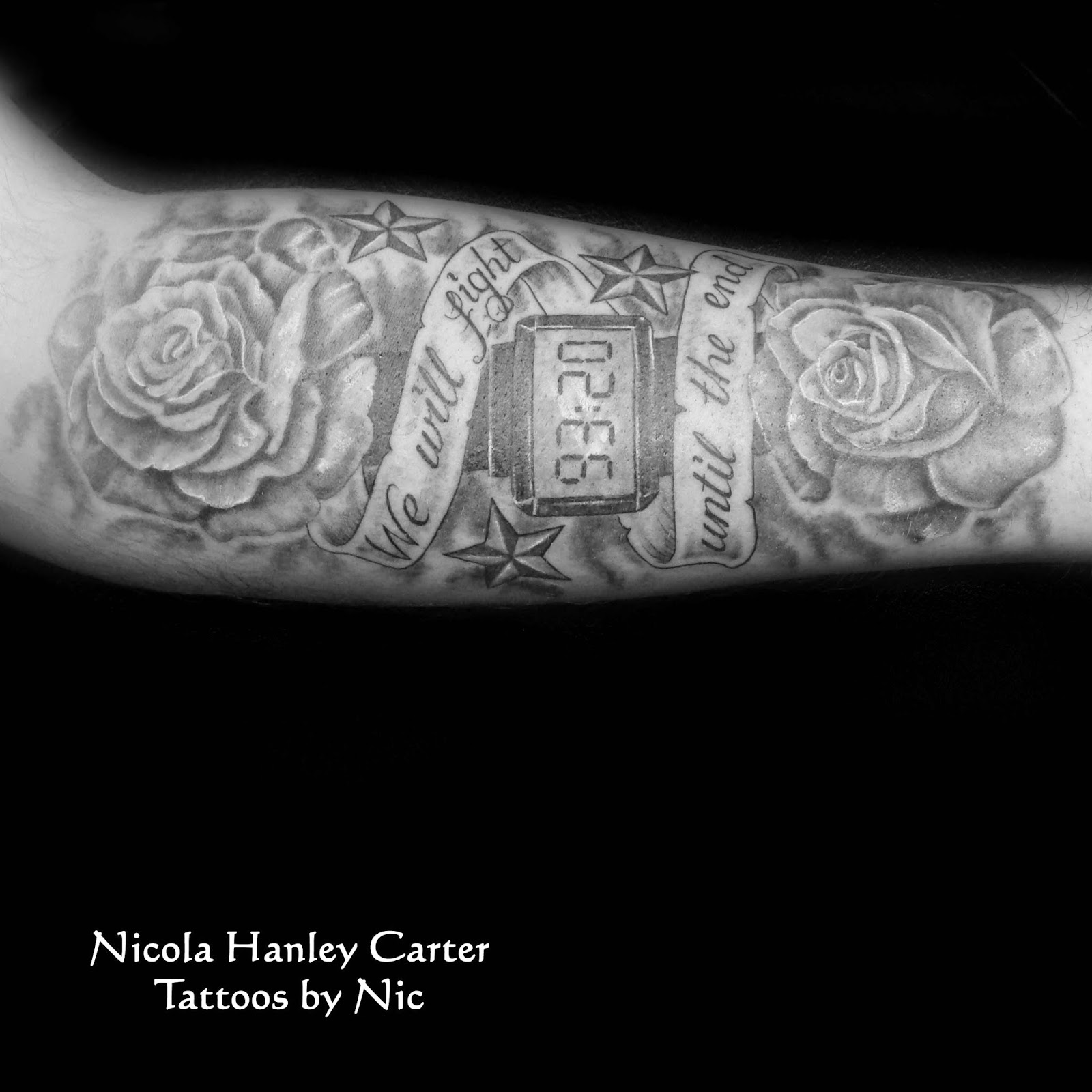 tattoos by nic nicola hanley carter manchester city tattoo. Black Bedroom Furniture Sets. Home Design Ideas