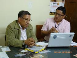 Presidente Comité Organizador CONIC Cajamarca 2011
