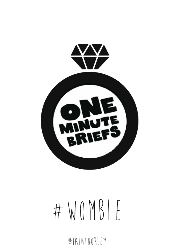 One Minute Brief entries: WOMBLE (OMBLE WEDDING) Celebration posters ...