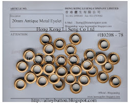 Antique Metal Eyelet Supplier - Hong Kong Li Seng Co Ltd