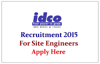 Odisha Industrial Infrastructure Development Corporation (IDCO) Recruitment 2015 for Business Development Manager and Site Engineer