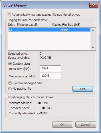 Cara  Menggunakan Free Space Hard Disk Sebagai Virtual RAM