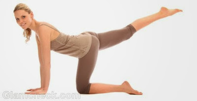 7 Exercises to firm the buttocks at home Hip extension Beauty tips