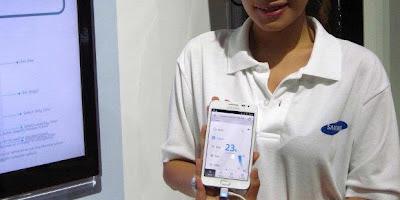 pengendali AC di Samsung
