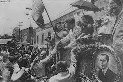 PCB anos 40 - Campanha eleitoral em 1945 de Prestes ao Senado
