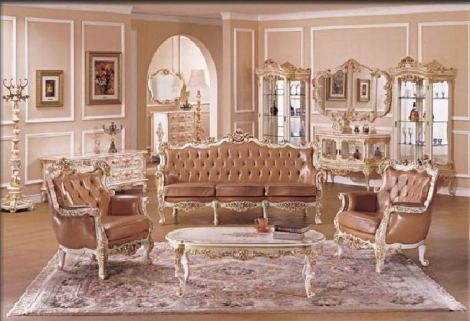 C mo decorar una sala con muebles antiguos antique for Decoracion salas clasicas elegantes