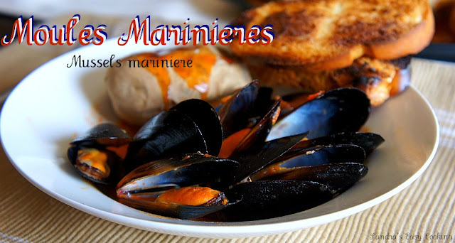 Mussels mariniere ~Moules Marinires