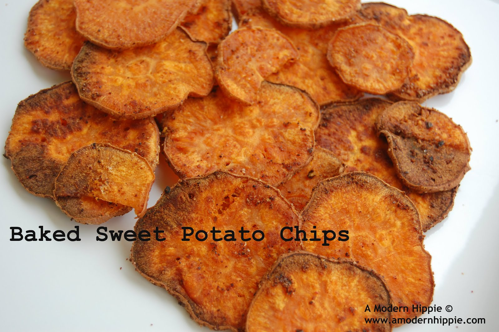 ... salty to eat well i found a great substitute baked sweet potato chips