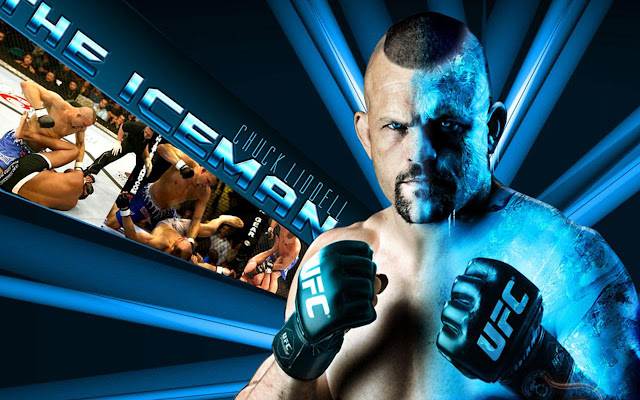 ufc mma fighter chuck liddell the iceman wallpaper image picture