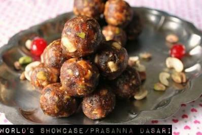 Dates laddu World's Showcase - Prasanna Dasari