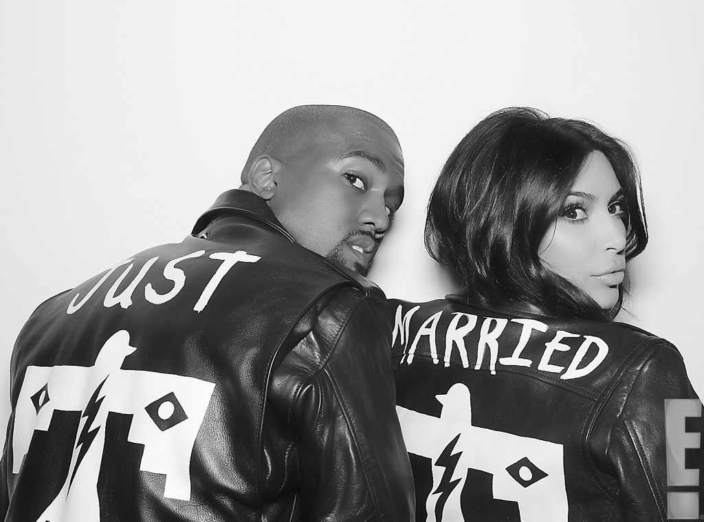Kim and Kanye Get Married