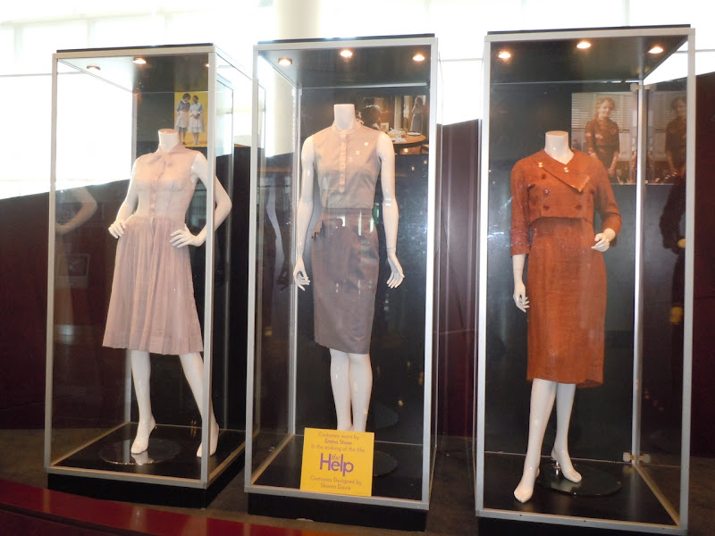 The Help Emma Stone costume exhibit