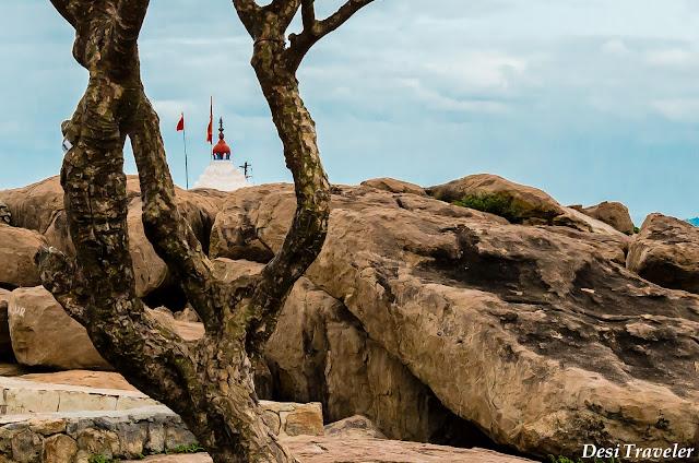 birthplace of hanuman temple in anegundi near hampi