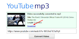 Cara Convert Video Youtube ke Mp3