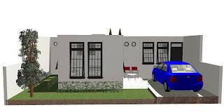 Gambar desain rumah tampak depan