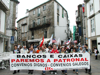 Manifestación da CIG (Confederación Intersindical Galega) no 2007 en Compostela