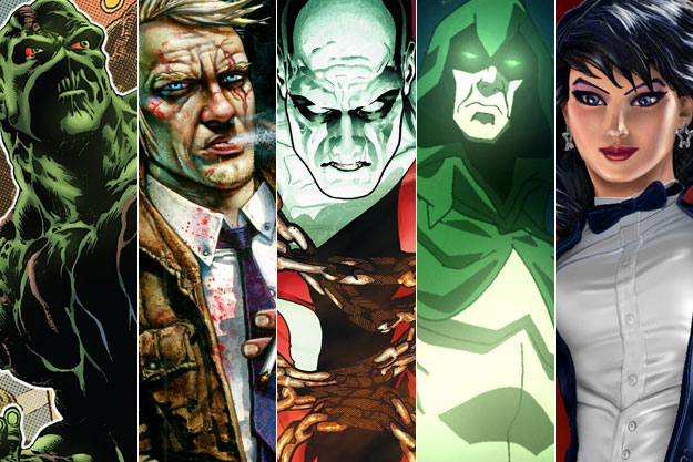 Guillermo del Toro y el la Justice League Dark
