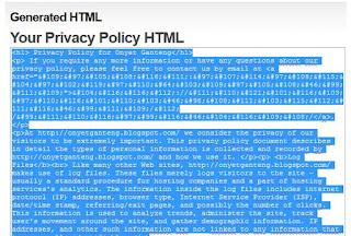 Cara Mudah Membuat Halaman Disclaimer dan Privacy Policy