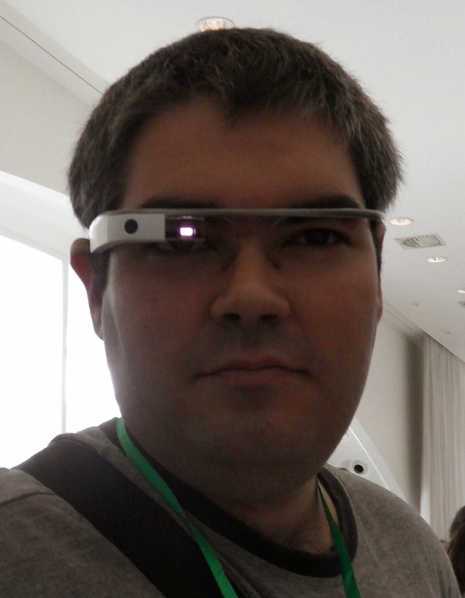 Por fin he podido probar las Google Glass, gracias a Innoarea.