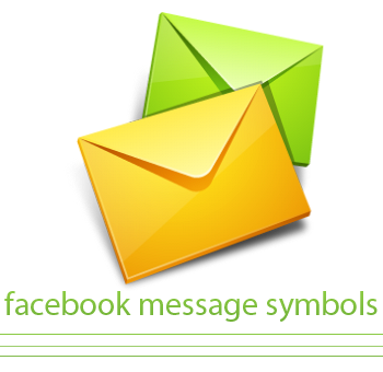 facebook message symbols facebook symbols
