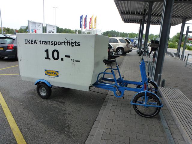 Loja de móveis aluga quadriciclos