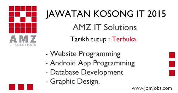 Jawatan Kosong IT 2015 di AMZ IT Solutions