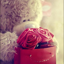 teddy, bear, i-love-you, heart, flower