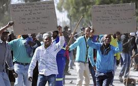 Mais repressão na África do Sul
