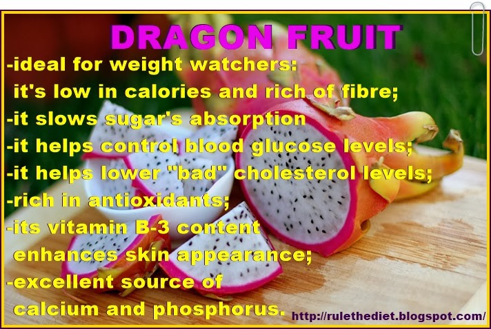 low sugar fruit pitaya fruit