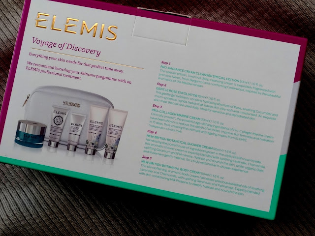 Elemis Voyage Of Discovery Set Holiday 2015