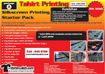 SILKSCREEN PRINTING Package A