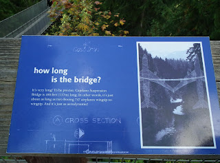 How long is Capilano Suspension Bridge