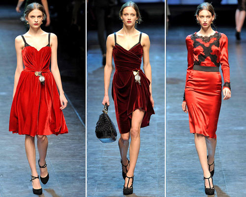 modnue platya dg07 Модні сукні від Dolce & Gabbana