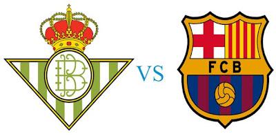 Prediksi Skor Real Betis vs Barcelona 10 Desember 2012
