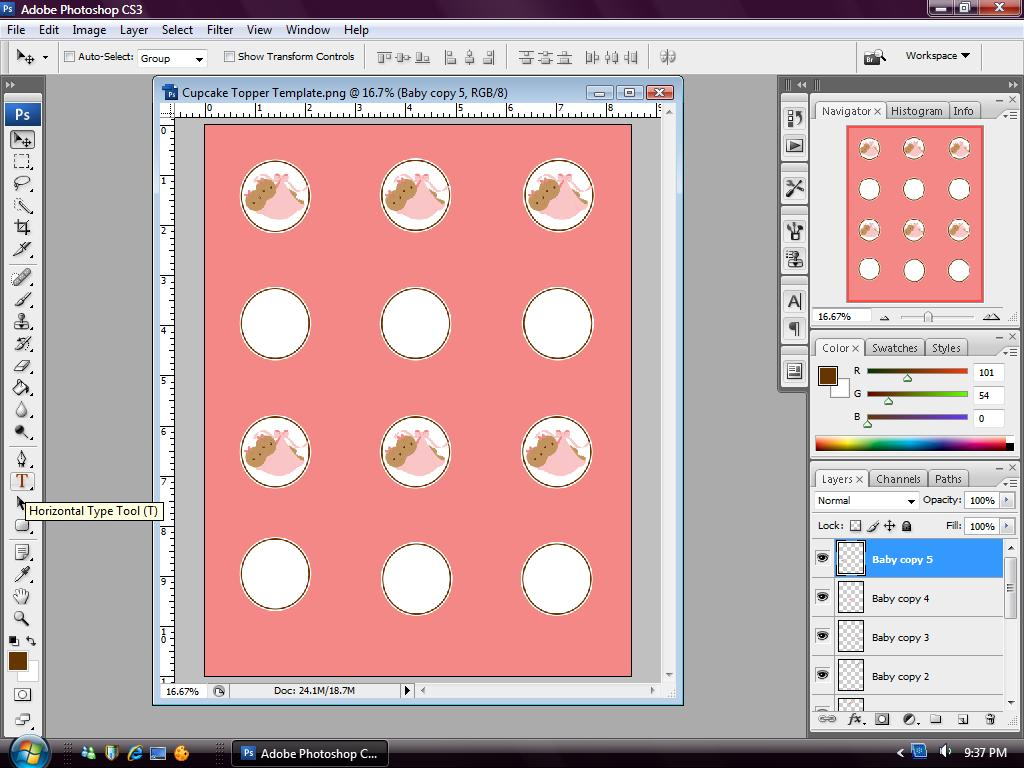 Eccentric Designs by: Latisha Horton: How to Make Cupcake Toppers ...