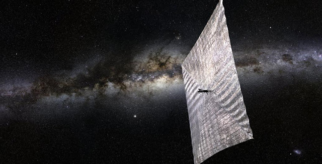 Artist's rendition of LightSail spacecraft. Credit: Planetary Society
