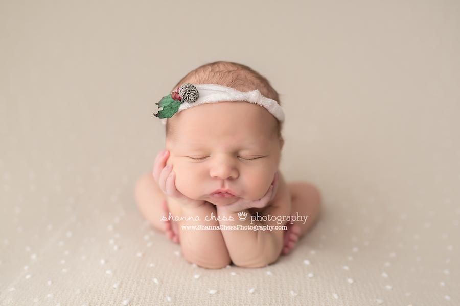 eugene springfield oregon newborn photography christmas