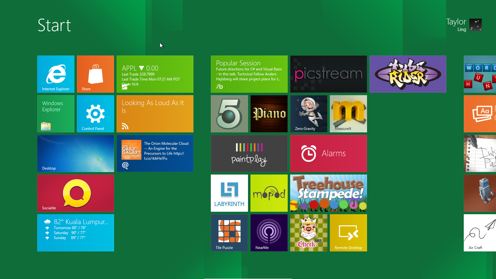 WIN 8 Final Release boots straight to 'Metro' Start Screen