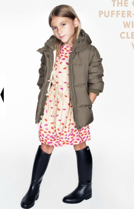 Desired: Crewcuts by J.Crew Pucker Up Print Skirt and Dress for Girls | The Terrier and Lobster