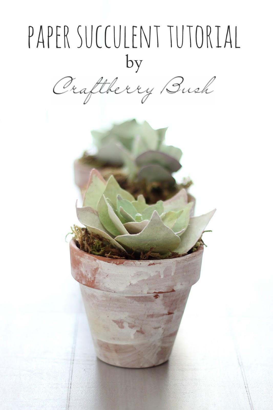 cómo hacer un cactus de papel