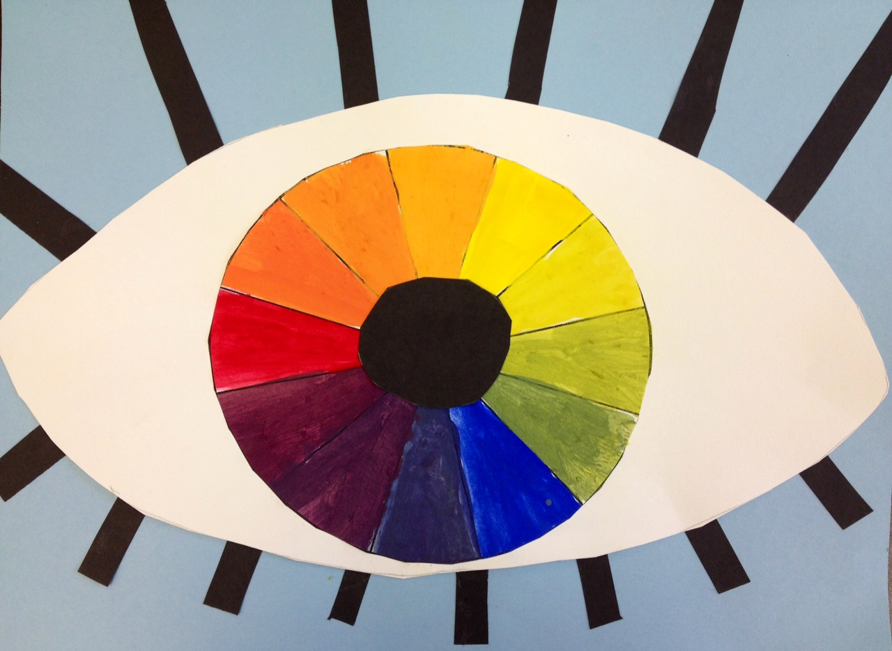 Art At Hosmer Color Wheel Eyes