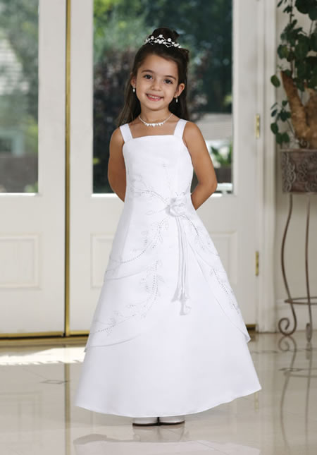 Wedding Dresses For Childrens In : All about wedding bridemaid kids gown
