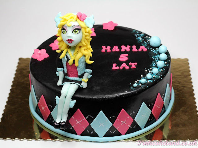 Lagoona Blue Birthday Party Cake