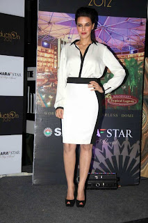 WWW..BLOGSPOT Neha Dhupia at Sahara Star Seduction press meet Picture Stills Gallery 0002